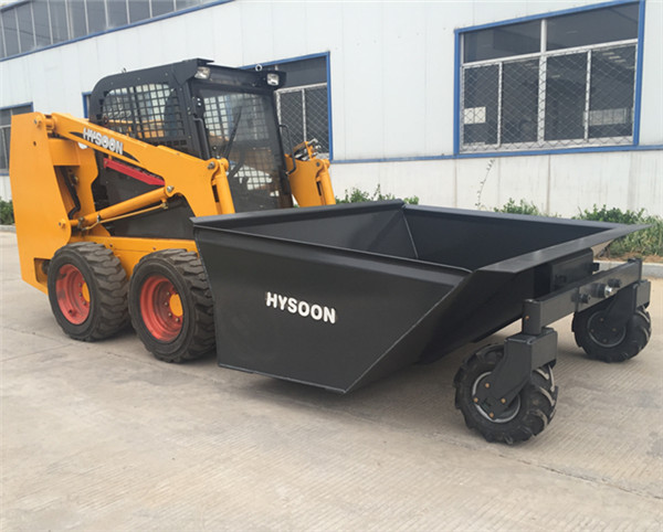 HY700 Skid Steer Loader with Hopper