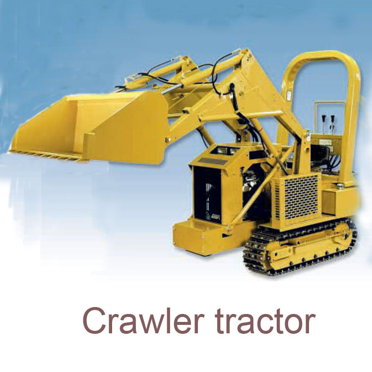 compact crawler trator machine with front end loader for sale